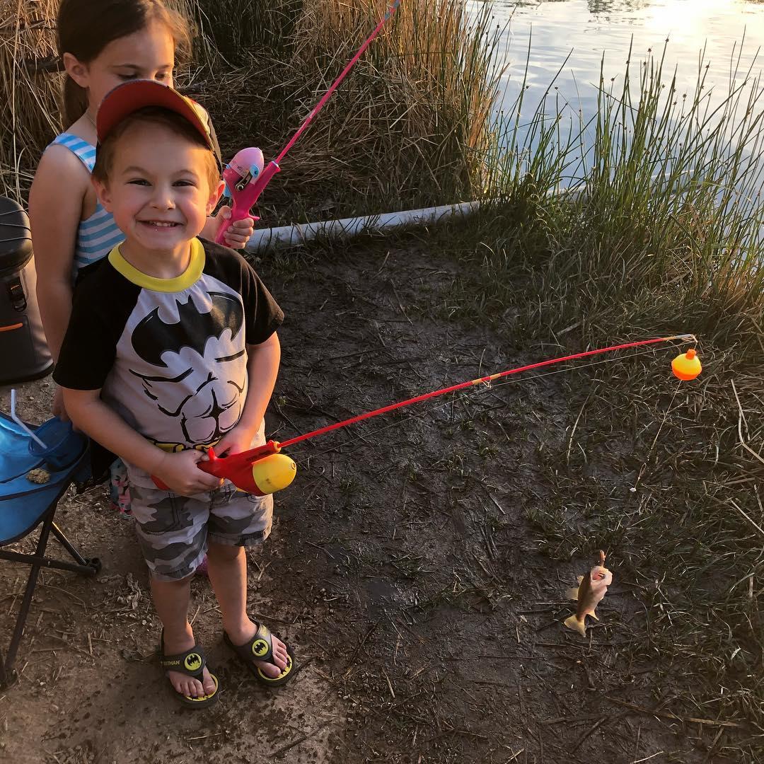 Gilbert's Youth Fishing Day