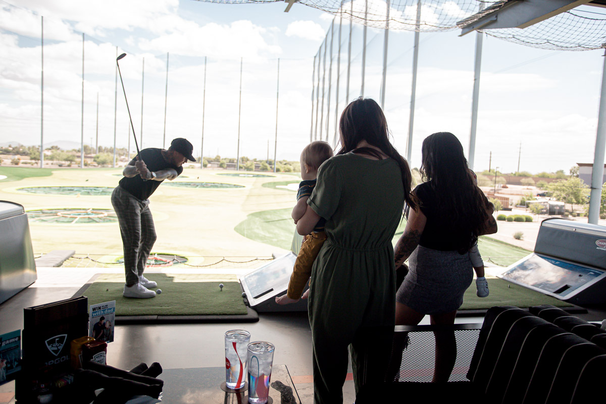 Top Golf Group Photo