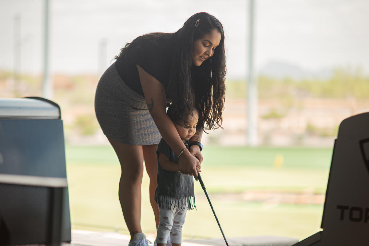 Mommy and Me Golfing