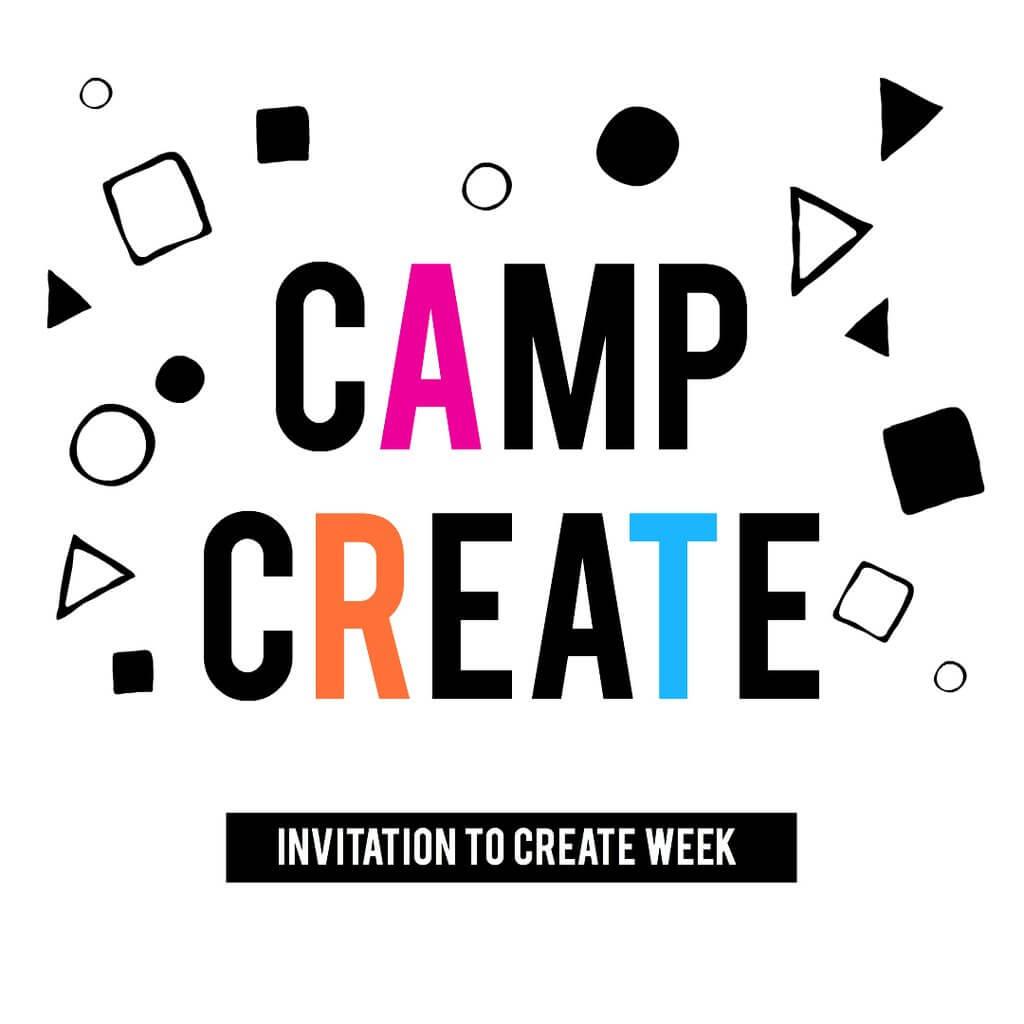 Camp Create Summer Camp – June 24-26 – Morning