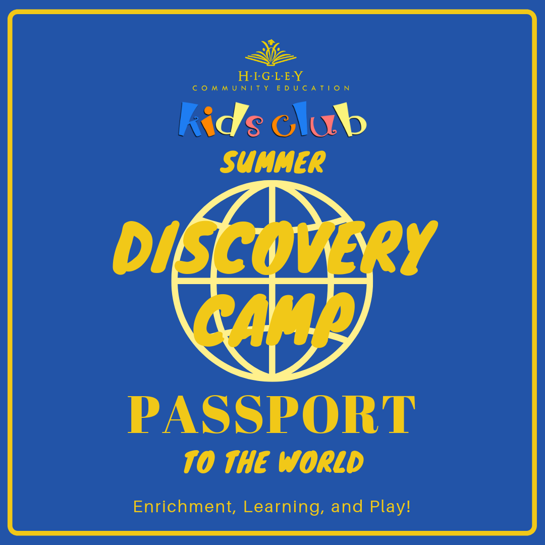 Discovery Camp Passport to the World – July 1-12