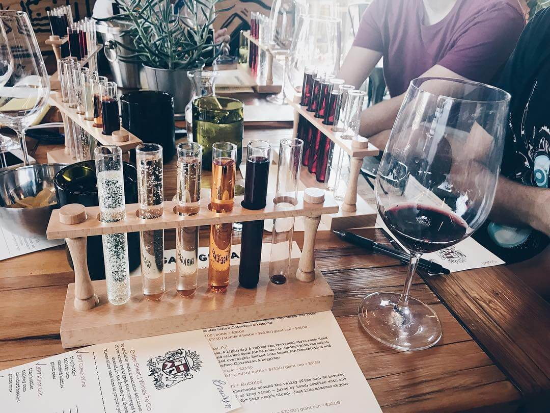 Experience Arizona Wine at Gilbert's First Winery: Garage-East
