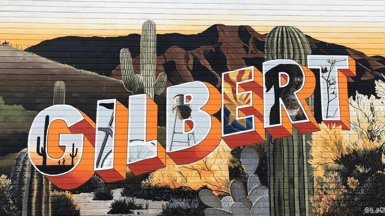 Gilbert, Arizona Mural